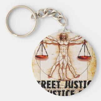 Vitruvian Man by Street Justice Keychains
