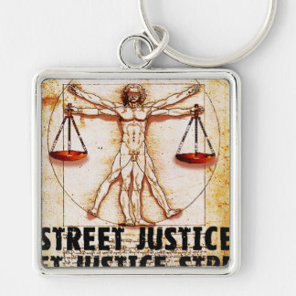 Vitruvian Man by Street Justice Key Chains