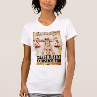 Vitruvian Man by Street Justice Tee Shirt