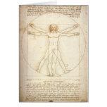 Vitruvian Man Card