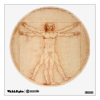 Vitruvian Man - da Vinci Wall Decal