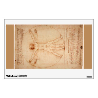 Vitruvian Man - da Vinci Wall Sticker