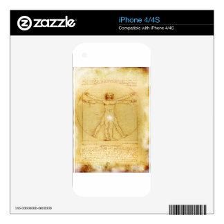Vitruvian Man- Da vinci's Decals For The iPhone 4