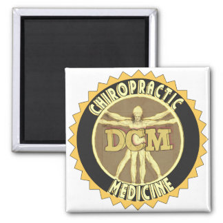 Vitruvian Man DCM Magnet