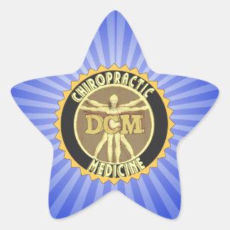 Vitruvian Man DCM Star Sticker