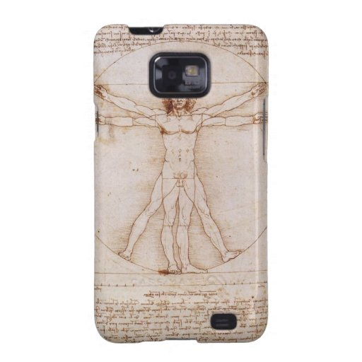 Vitruvian Man Galaxy SII Case