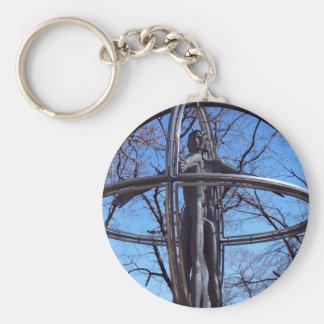 Vitruvian Man Key Chain