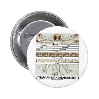 Vitruvian Man Measurements Button