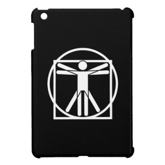 Vitruvian Man Pictogram iPad Mini Case