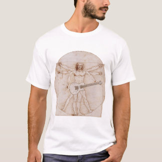 Vitruvian Man Rocks 2 T-Shirt