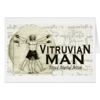 Vitruvian MMA Man Card