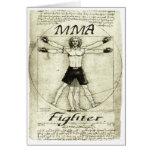 Vitruvian MMA Man Cards