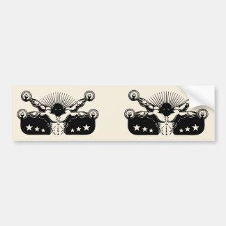Vitruvian Reps Bumper Sticker