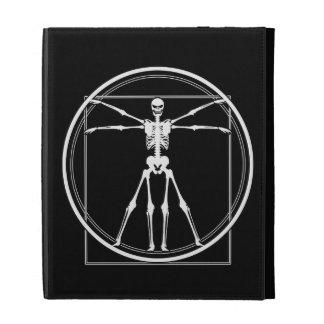 Vitruvian Skeleton iPad Case
