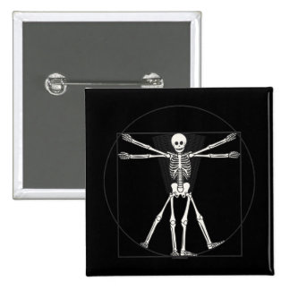 Vitruvian Skeleton Lite Pins