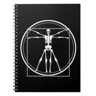 Vitruvian Skeleton Notebook