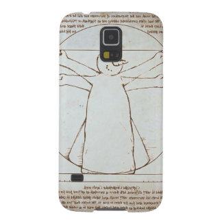 Vitruvian Snowman Case For Galaxy S5