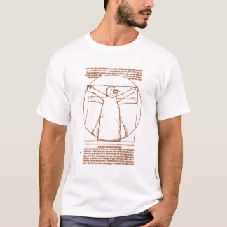 Vitruvian Snowman T-Shirt