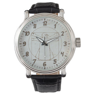 Vitruvian Snowman Wristwatch