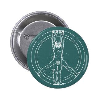Vitruvians for Peace Pin