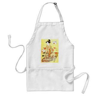 Vittage Japanese art apron