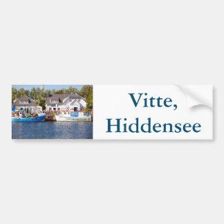 Vitte, Hiddensee Bumper Sticker
