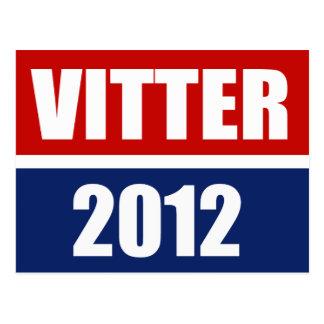 VITTER 2012 POSTCARD