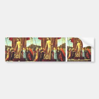 Vittore Carpaccio-Christ with Symbols of Passion Bumper Sticker