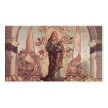 Vittore Carpaccio- Glorification of St. Ursula Business Card Templates