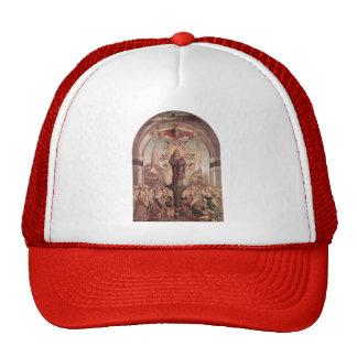 Vittore Carpaccio- Glorification of St. Ursula Mesh Hats