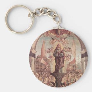 Vittore Carpaccio- Glorification of St. Ursula Keychains