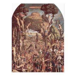 Vittore Carpaccio- los mártires de la crucifixión Postal