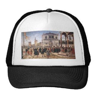 Vittore Carpaccio-Repatriation of Ambassadors Hat