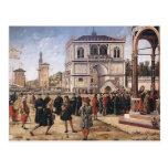 Vittore Carpaccio-Repatriation of Ambassadors Post Card