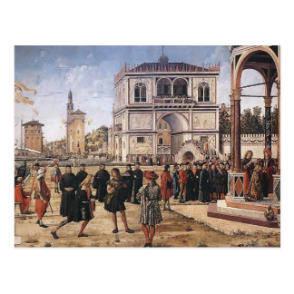 Vittore Carpaccio-Repatriation of Ambassadors Postcard