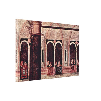 Vittore Carpaccio - St Tryphon free of Phrygia Stretched Canvas Prints