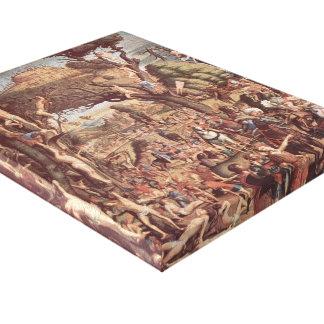 Vittore Carpaccio- The Crucifixion Martyrs Gallery Wrap Canvas