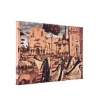 Vittore Carpaccio - The lion Gallery Wrapped Canvas