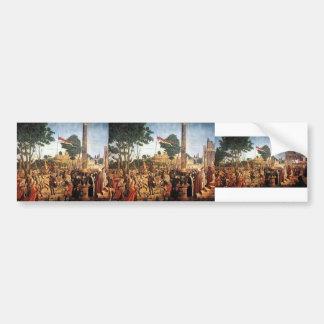 Vittore Carpaccio- The Martyrdom of the Pilgrims Bumper Sticker