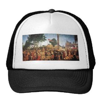 Vittore Carpaccio- The Martyrdom of the Pilgrims Mesh Hat