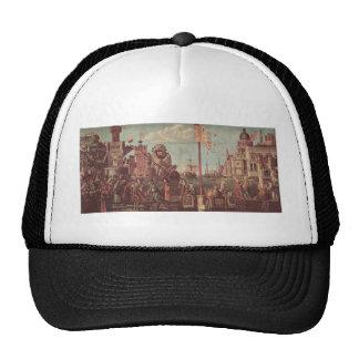 Vittore Carpaccio-The Meeting of Etherius & Ursula Hat