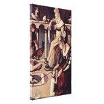 Vittore Carpaccio - Two ladies Canvas Prints