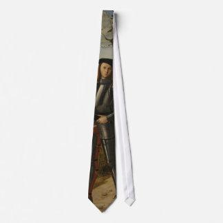 Vittore Carpaccio - Young Knight in a Landscape Tie