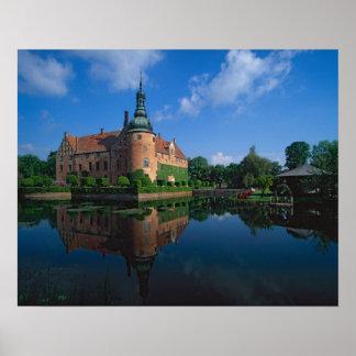 Vittskovle Castle, Skane, Sweden Poster
