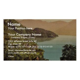 Vitznau, railway, Rigi, Switzerland classic Photoc Double-Sided Standard Business Cards (Pack Of 100)