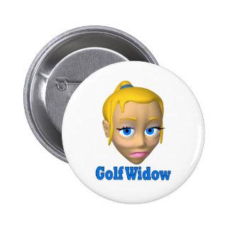 viuda de golf pin redondo 5 cm