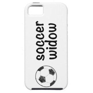 Viuda del fútbol funda para iPhone SE/5/5s