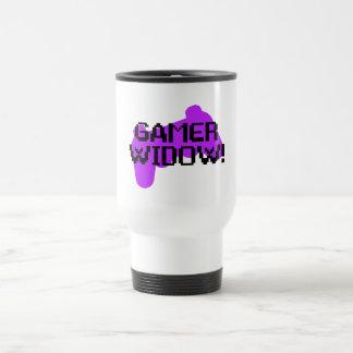 Viuda del videojugador tazas