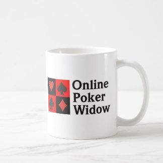 Viuda en línea del póker taza clásica