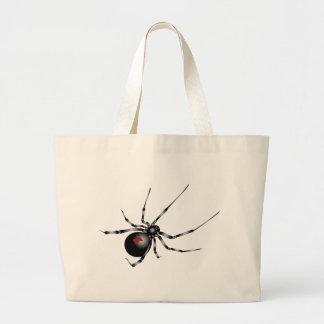 Viuda negra bolsa de mano